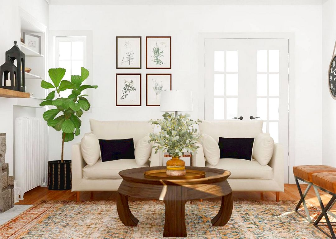How To Build a Living Room In Length?