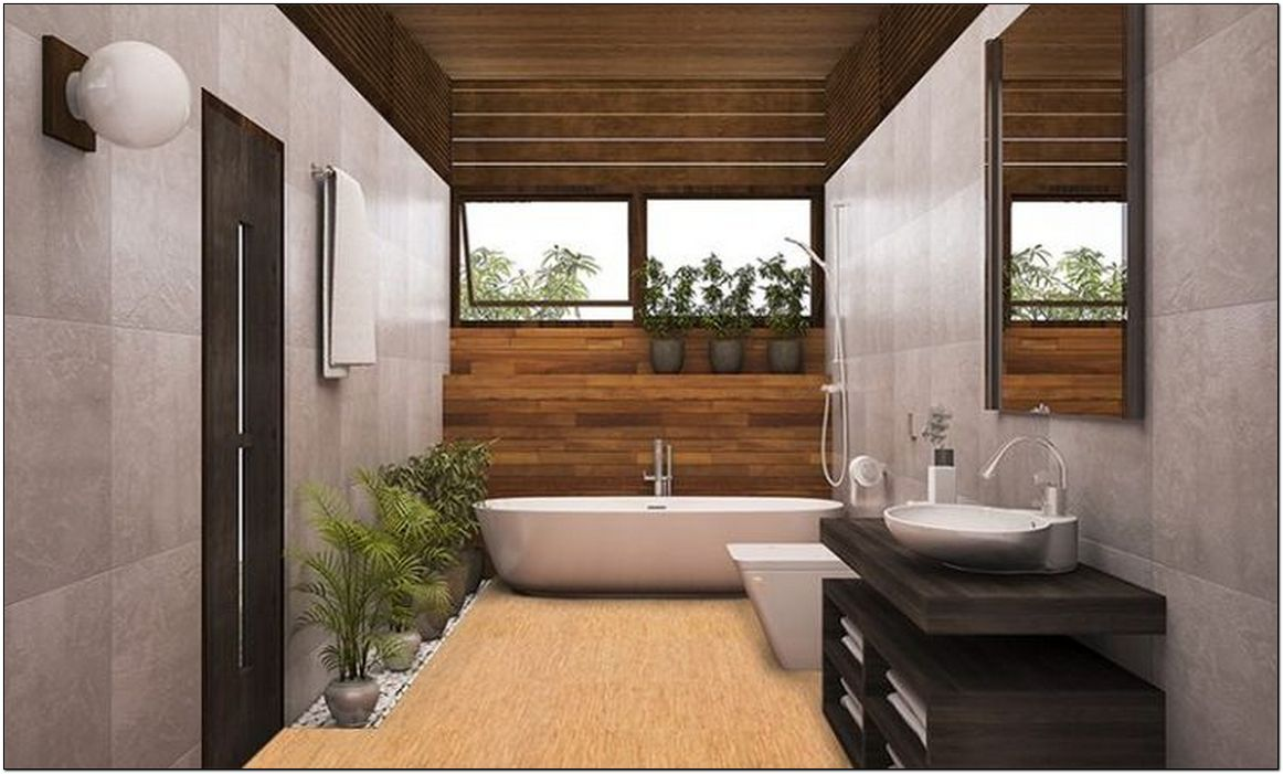 22 Modern Master Bathroom Features Connected To Nature